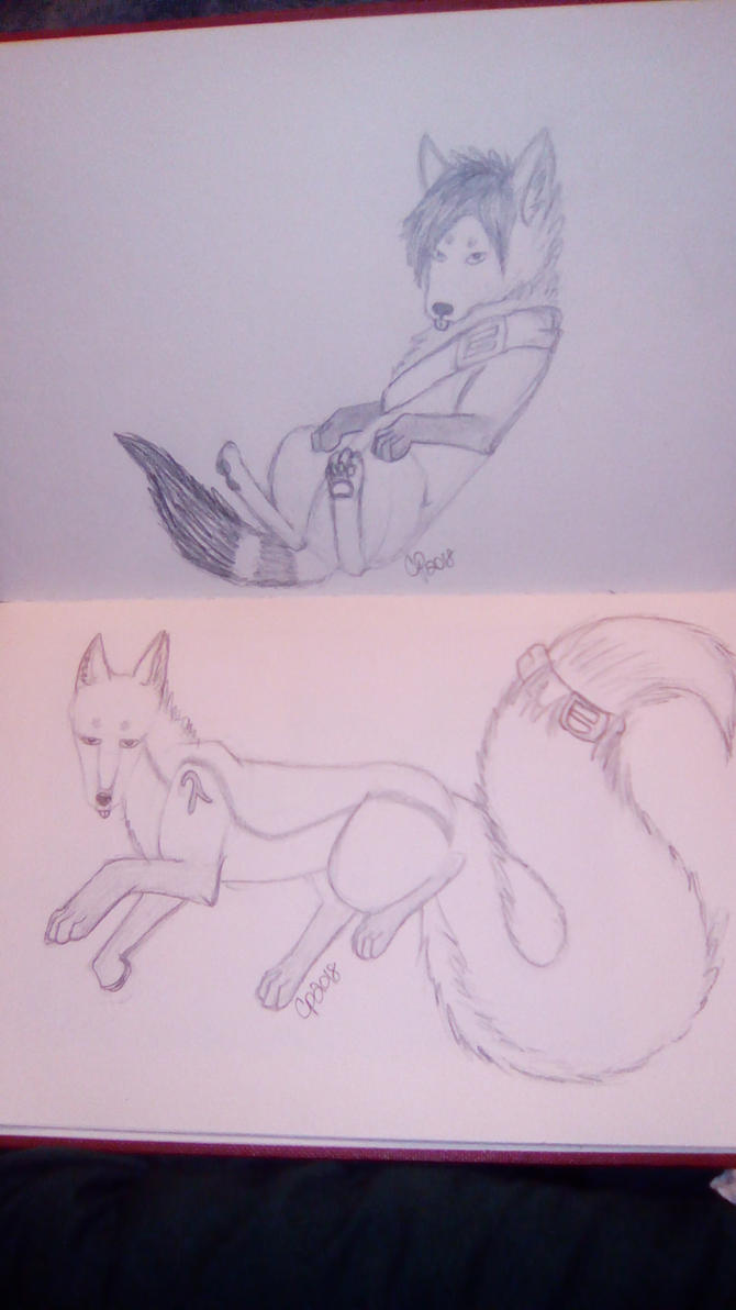 Belt Buddies .:Gift:. by Wolf--Prime