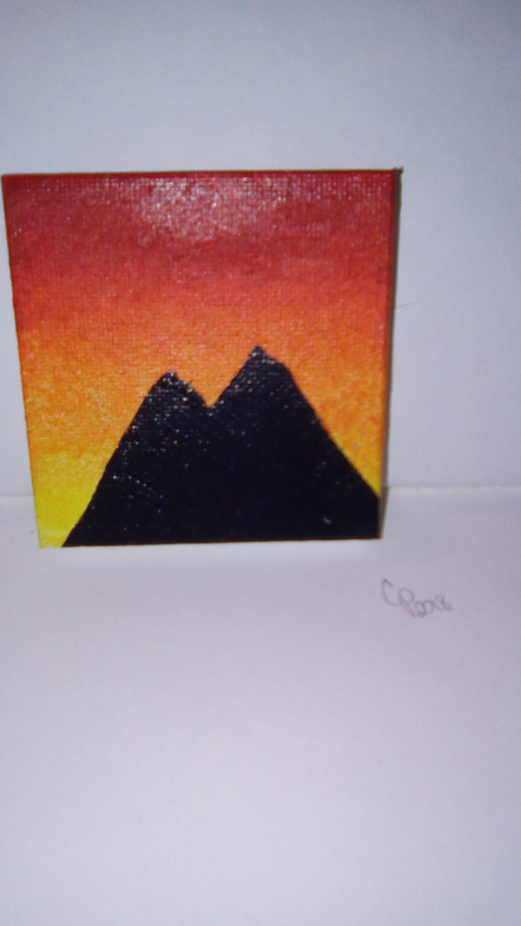 Mini painting by Wolf--Prime