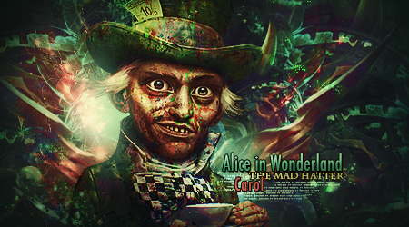 The Mad Hatter by CarolGfx