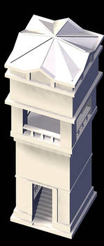 Rolent Clock Tower-No texture