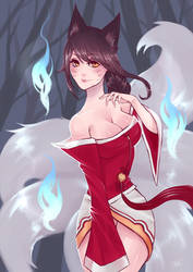 Ahri by xcapriccino