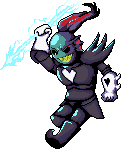 Undyne the Undying [Pixel] by Creeper2545