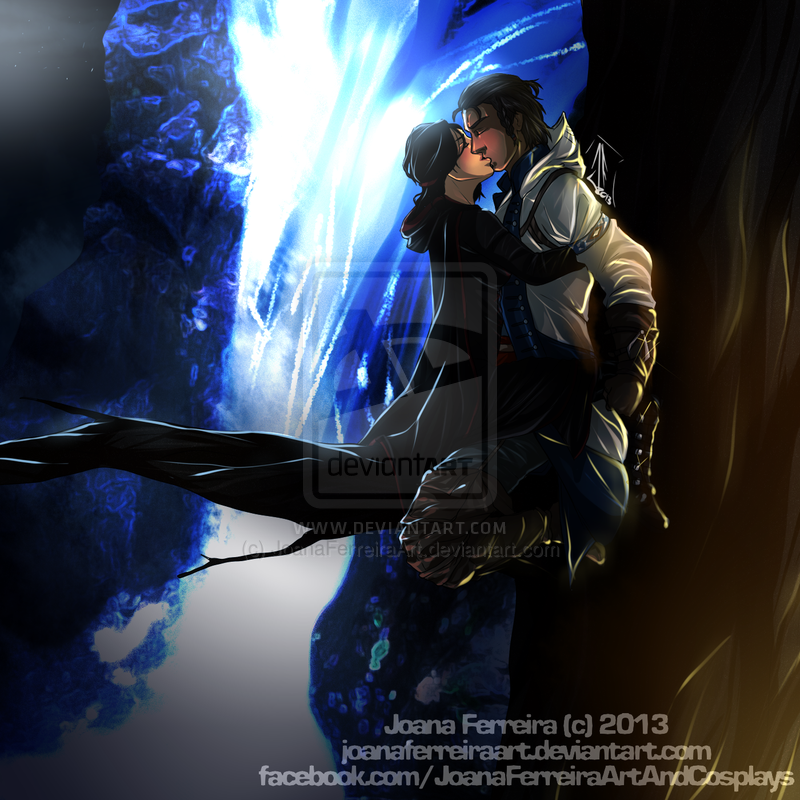 Connor And Maya Kenway By Dahlia Bellona On Deviantart