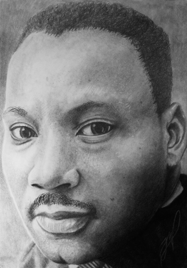 Martin Luther King Jr. by Joel-Wade