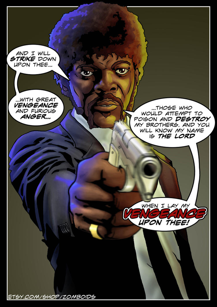 Pulp Fiction - Jules Winnfield (Samuel L. Jackson) by Joel-Wade