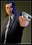 Pulp Fiction - Vincent Vega (John Travolta) by Joel-Wade