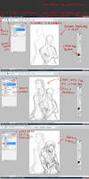 how i draw with tablet...