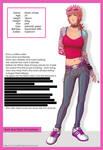 Gwen - character sheet
