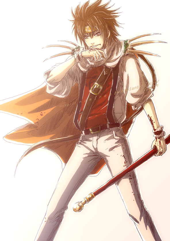 Goku Saiyuki By Nominee84 On Deviantart