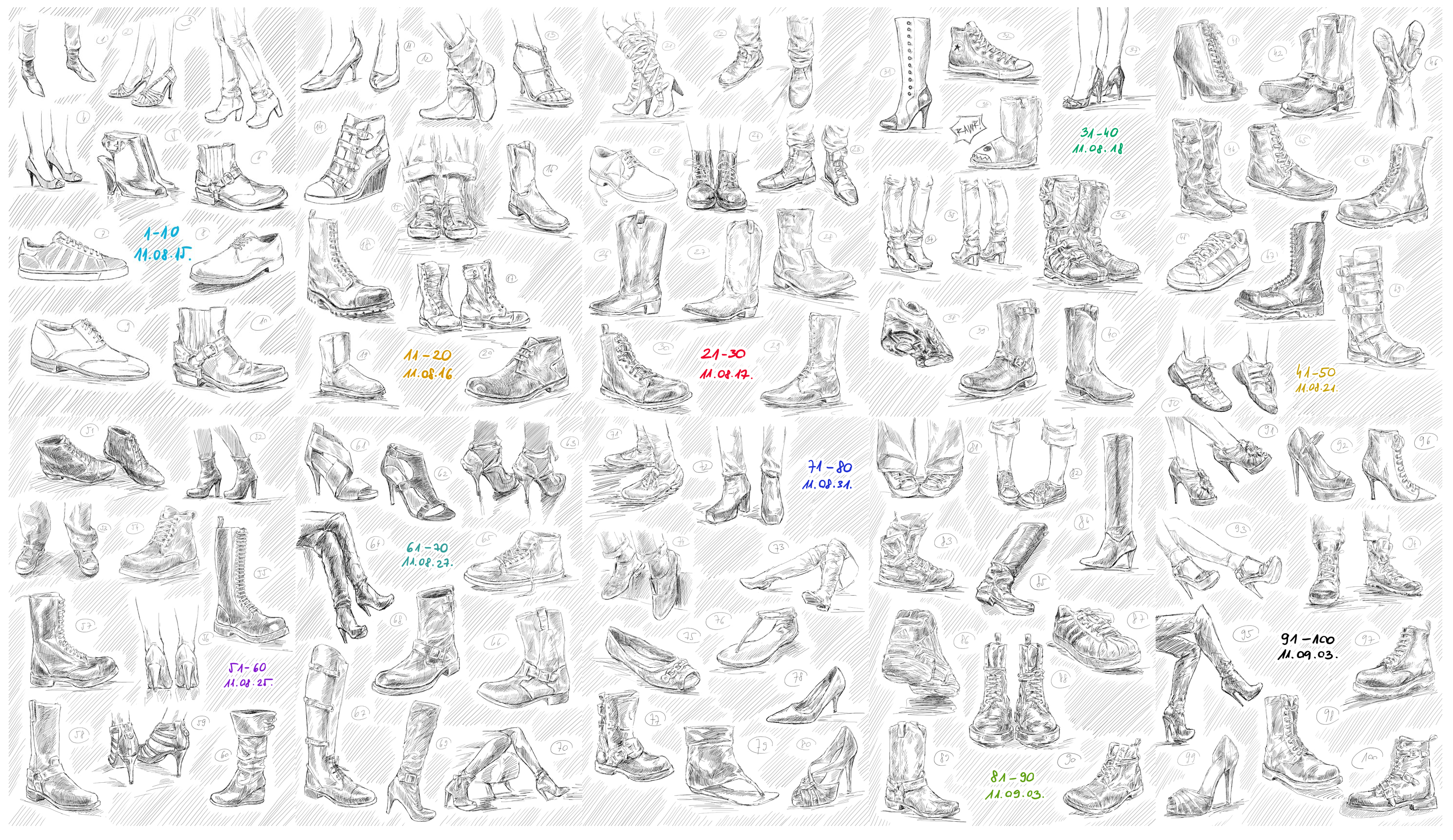 How To Draw Shoes Step 5jpg 1300x650 · 100