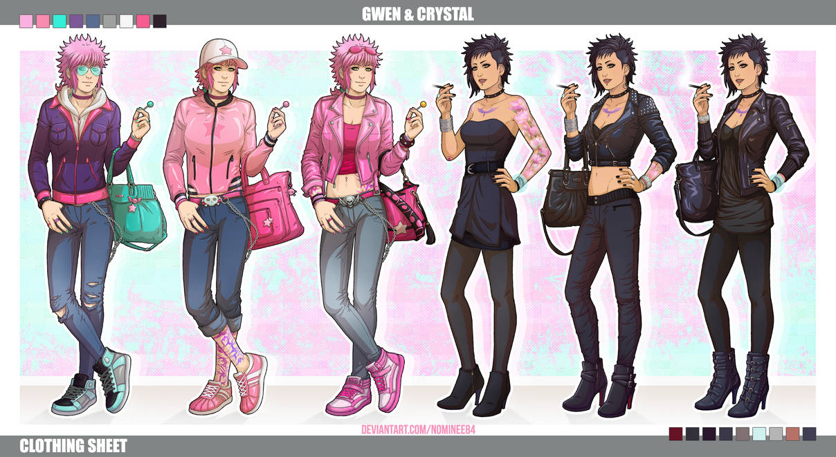 Clothing sheet for G + C by nominee84
