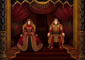 Imperial couple by nominee84
