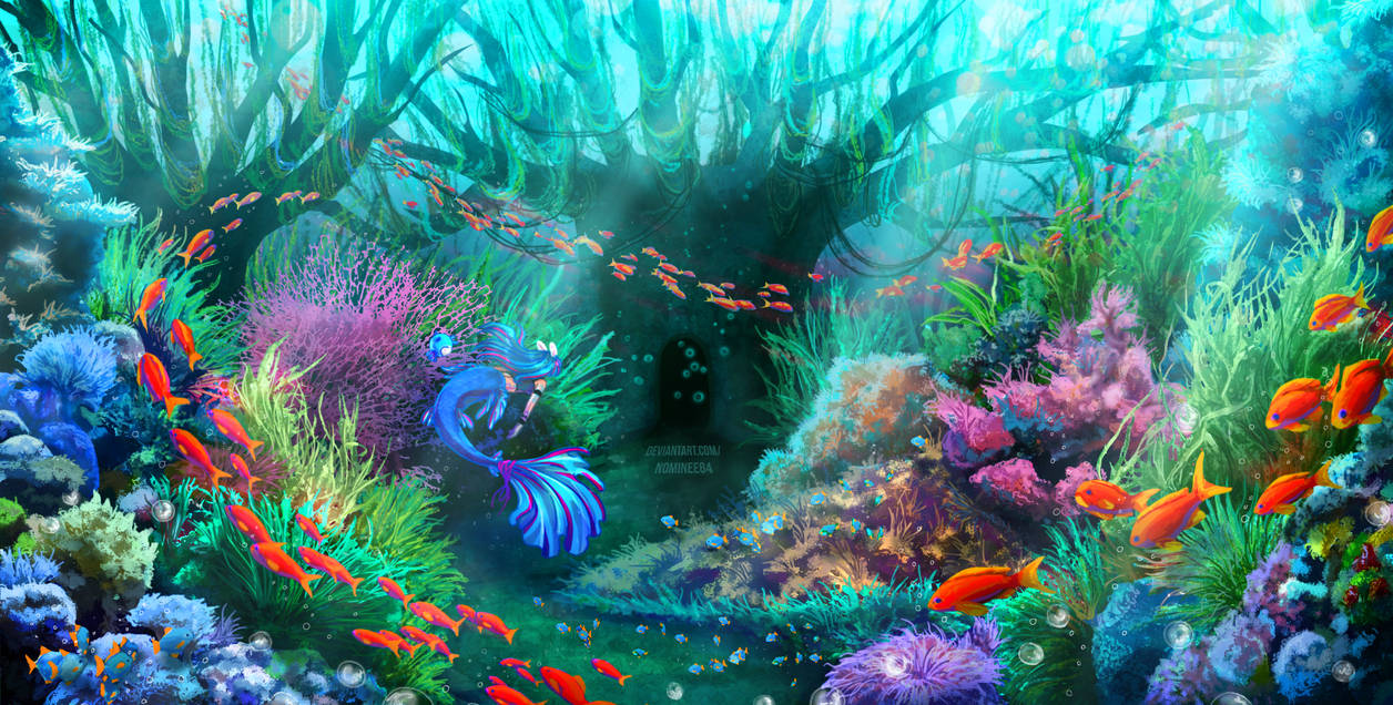 Underwater home by nominee84