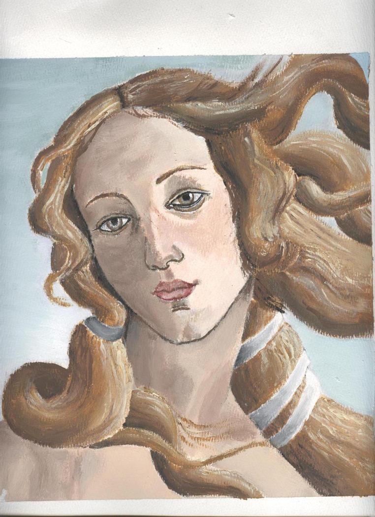 Goddess of Love - Botticelli by Heavens-Venus