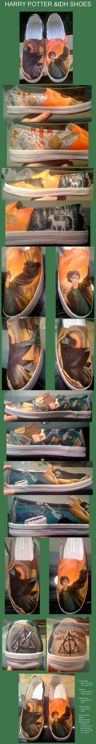 DH-inspired pottah shoes