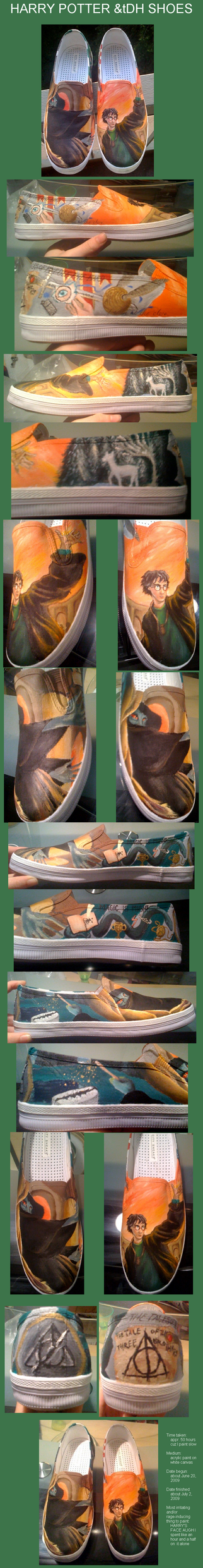 DH-inspired pottah shoes by Curious-Kitten
