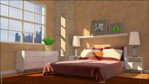 Bedroom Day by goocio