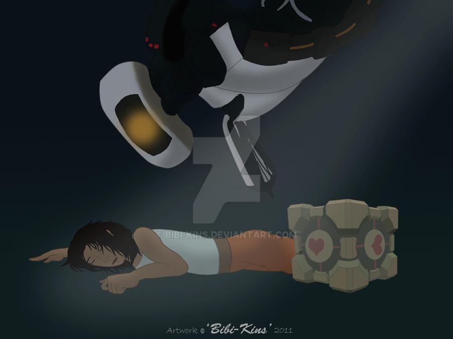 Portal 2 by Bibi-Kins