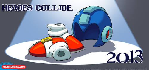 Sonic/MegaMan Crossover!