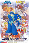 Sonic/Megaman Crossover Poster