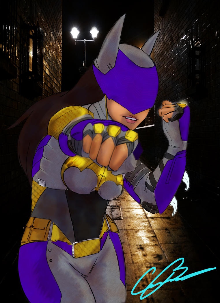 Rosie Batgirl by Monkeypyro