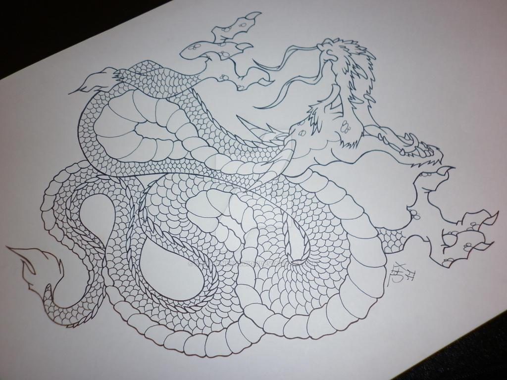 hip hop style dragon tattoo by damaginkstudios on deviantart. Black Bedroom Furniture Sets. Home Design Ideas