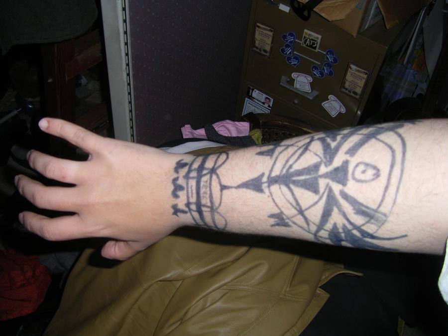 Scar Tattoo by ~Gen-Kavik on deviantART