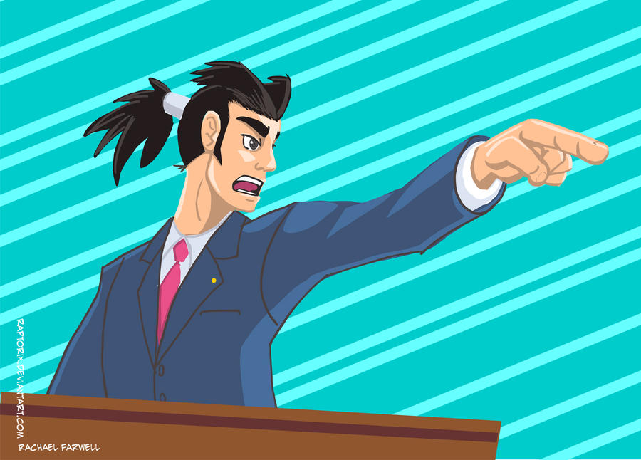 Ryuuichi the Defense Lawyer by Raptorix