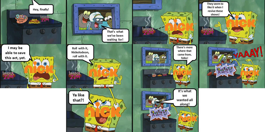 Nickelodeon Reviving its Classics in a Nutshell