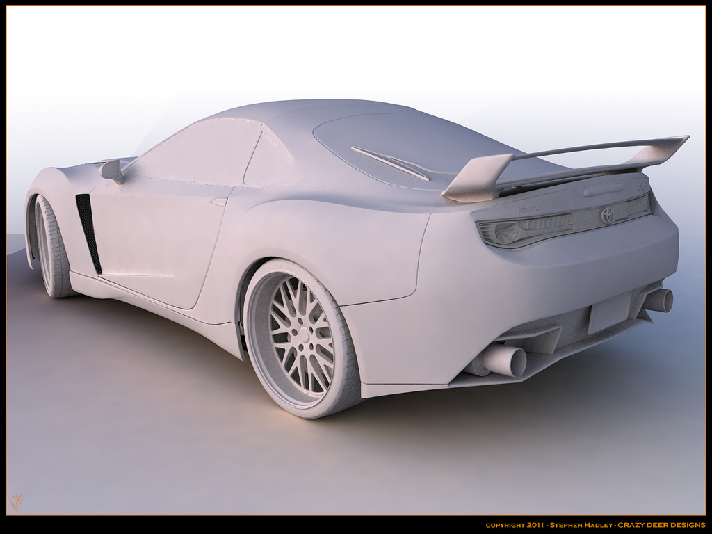 Toyota supra concept 2013 by Sphinx1