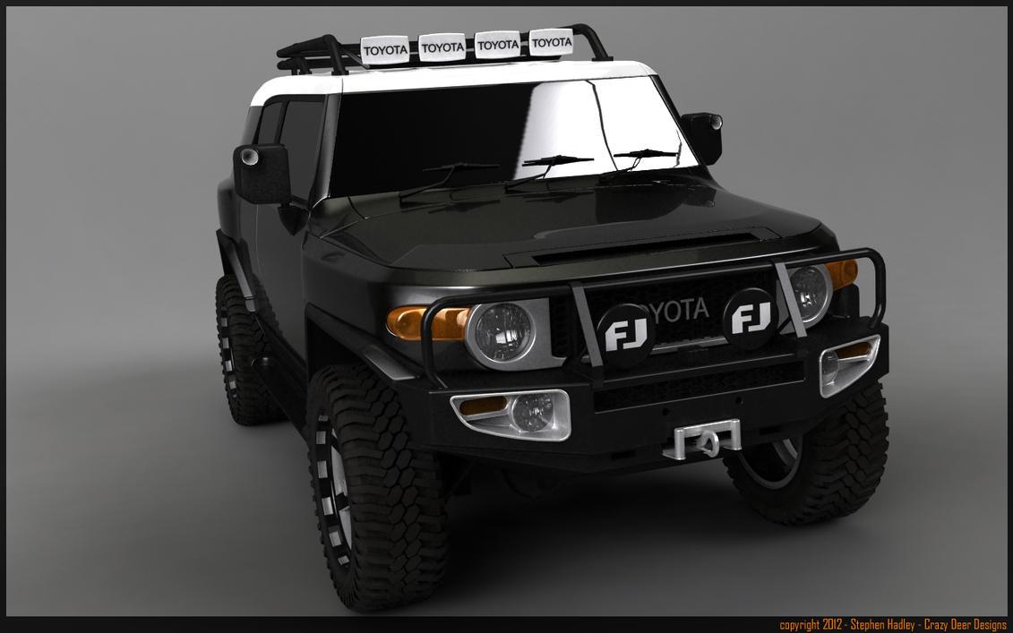 Custom Toyota FJ by Sphinx1 on DeviantArt