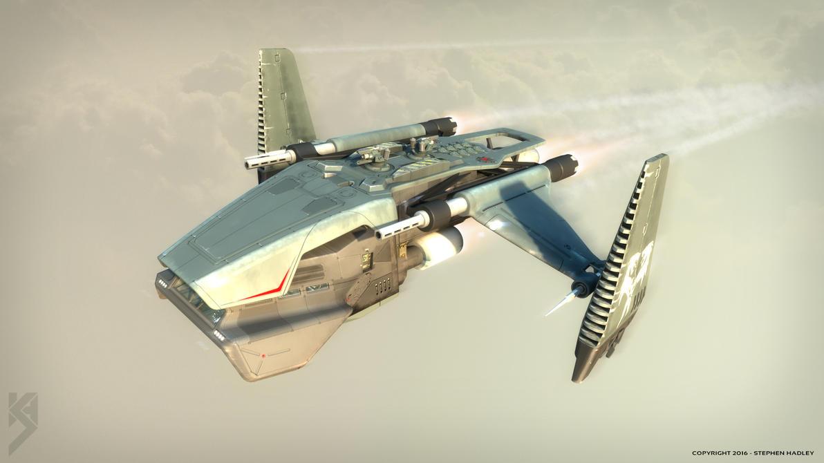 Impala gunship 2 by Sphinx1