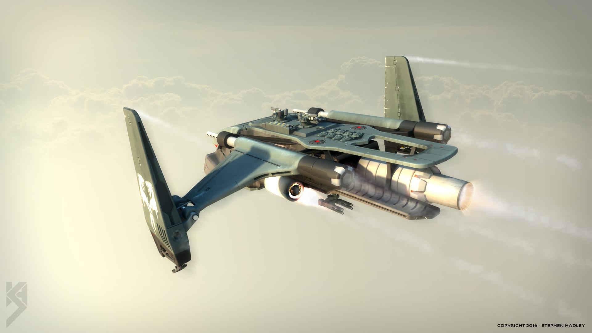 Impala gunship 3 by Sphinx1