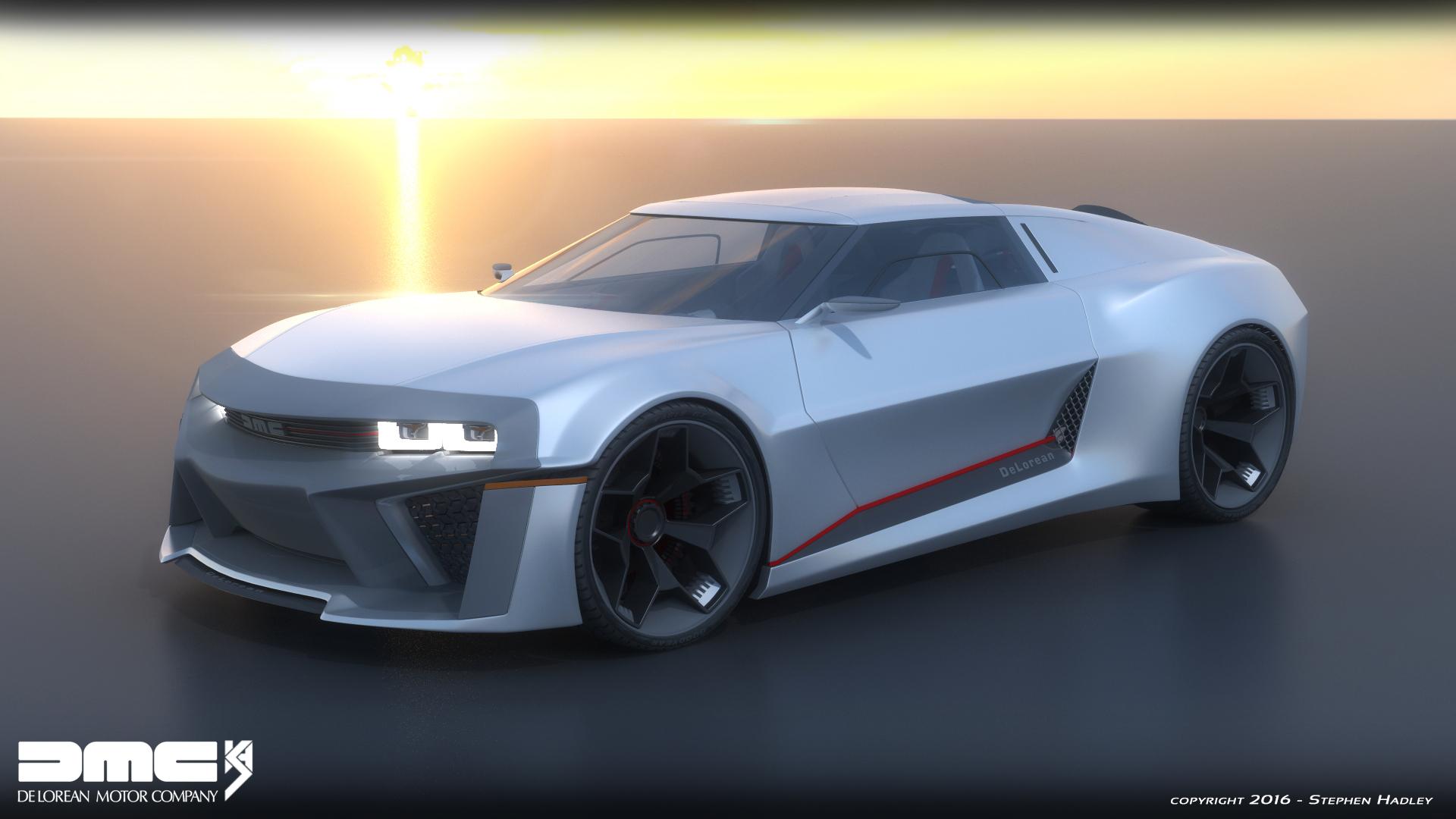 2017 DMC Delorean concept by Sphinx1