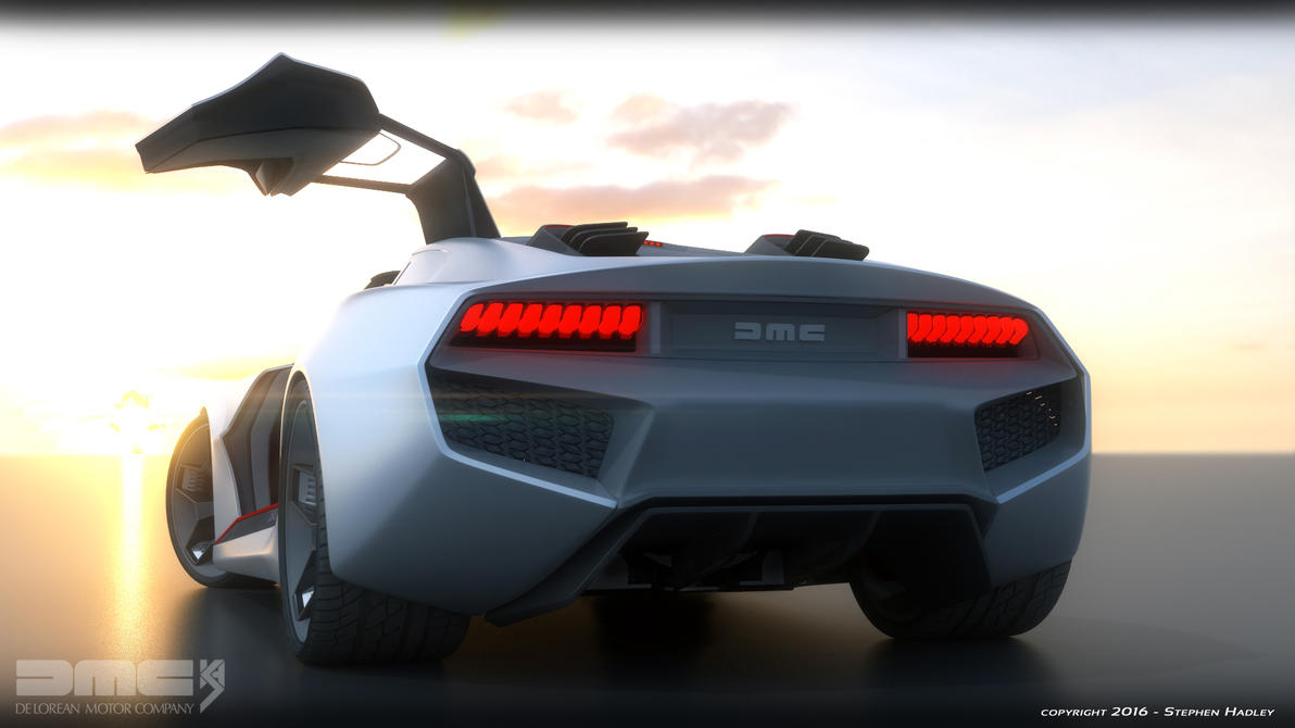 2017 DMC Delorean concept wing by Sphinx1