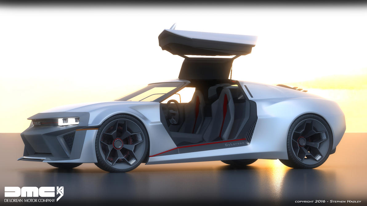 2017 DMC Delorean concept 2 by Sphinx1