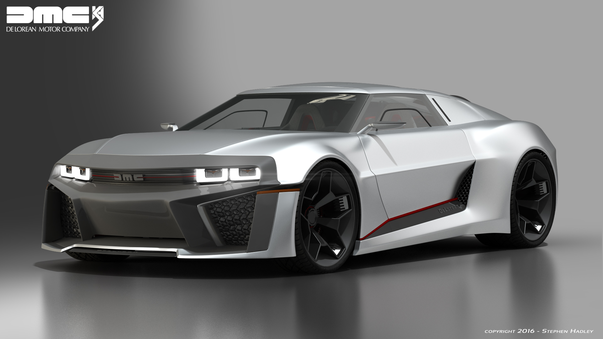 2017 DMC Delorean concept 3 by Sphinx1