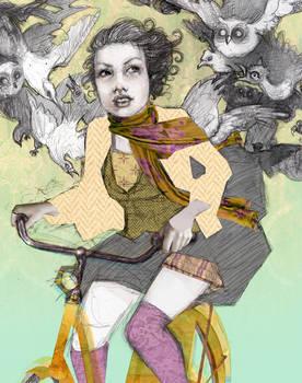 bike birds