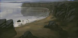 Coast Study (Sketch 30#)
