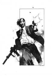 John Wick by dikeruan