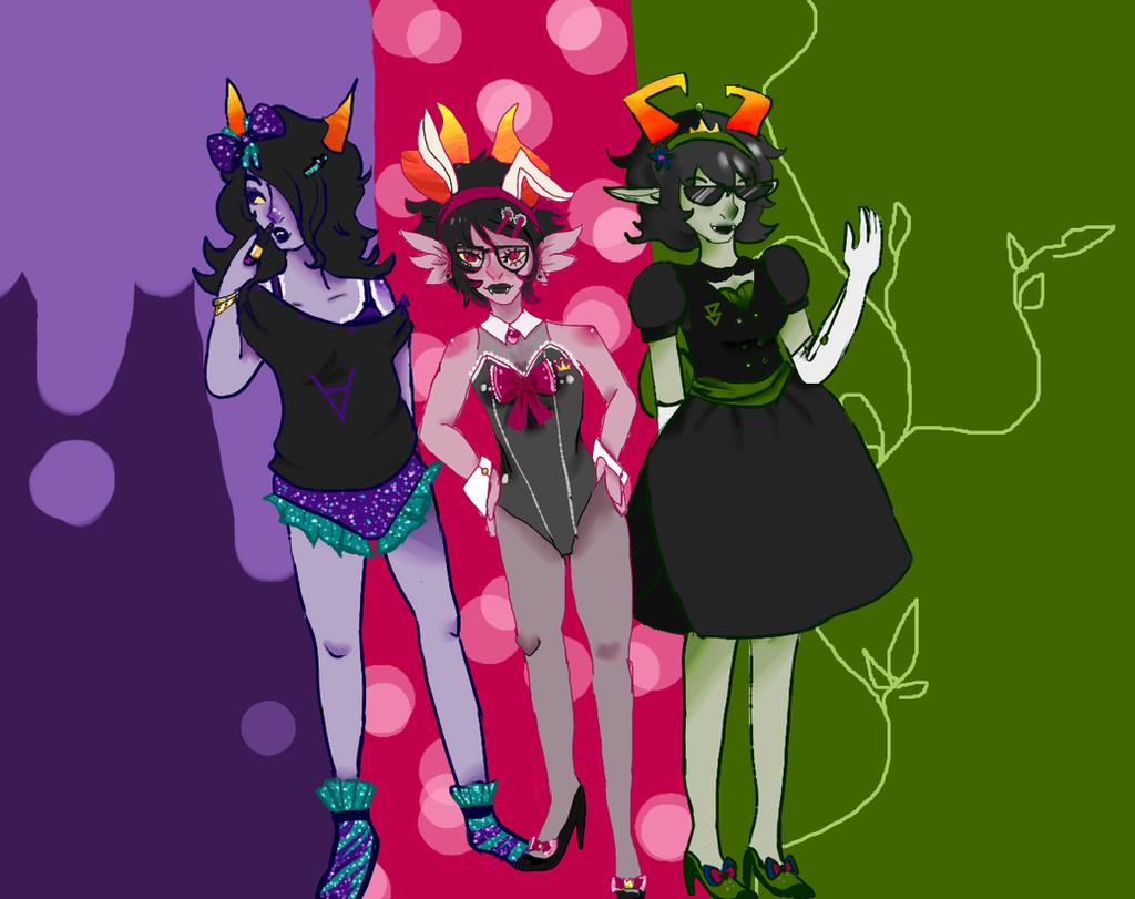 the queens by gh0stbun