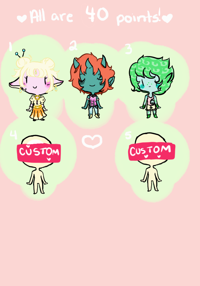 Little Adopts 40 Points (open 4/5) by gh0stbun