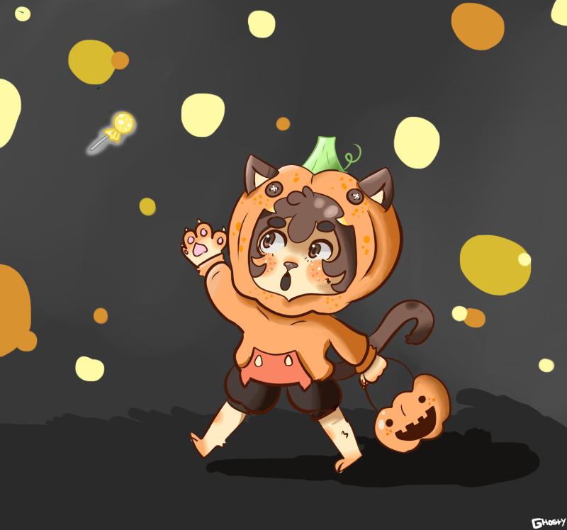 Candy Hunting by gh0stbun