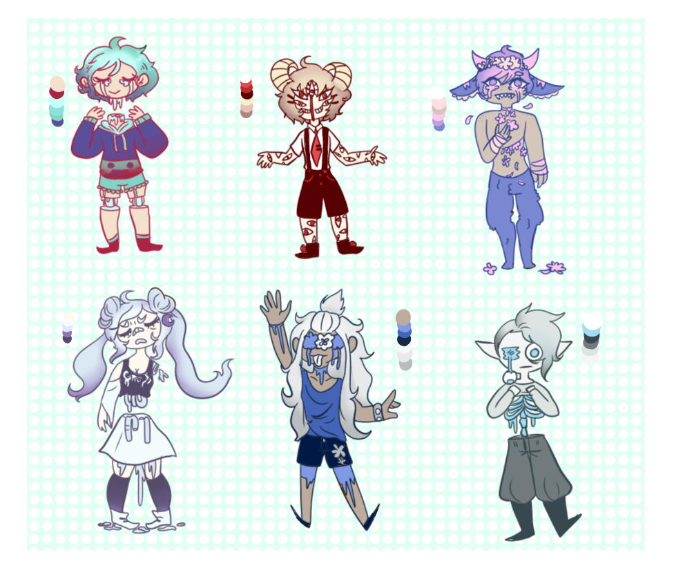 pastel gore adopts by - photo #4