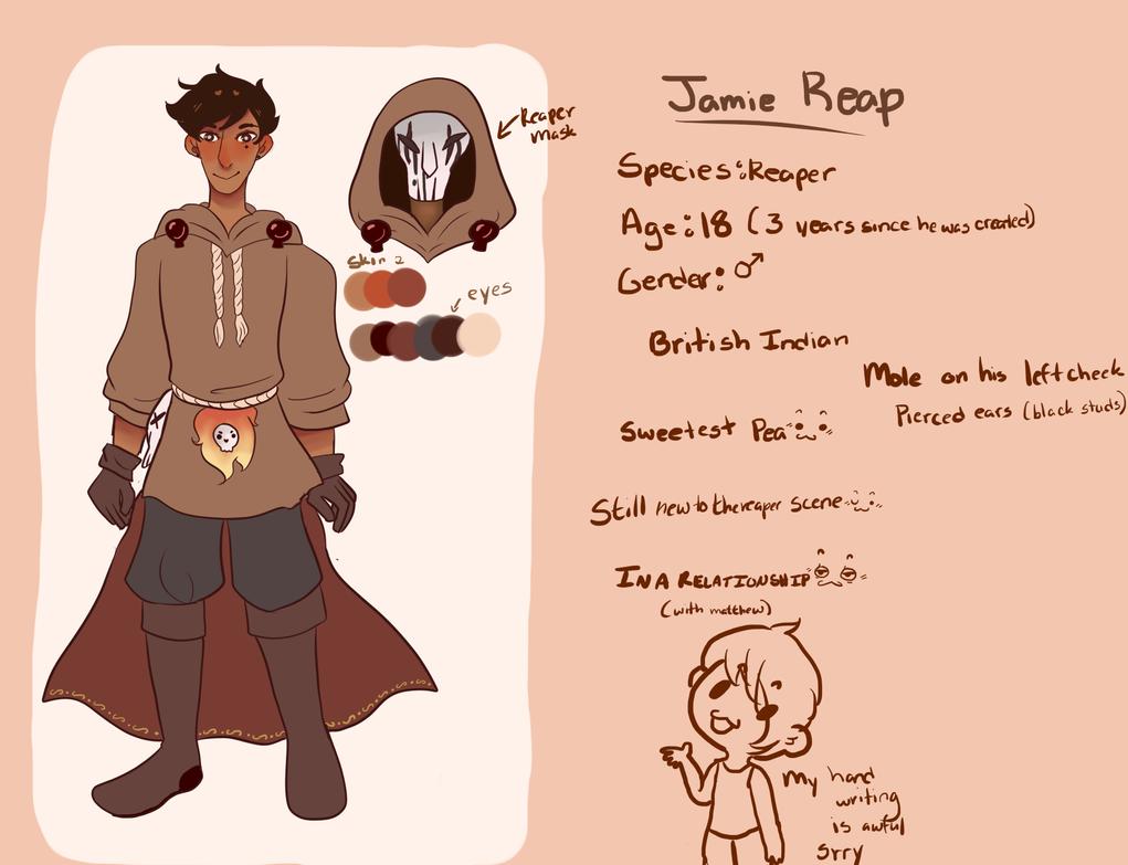 Jamie Reap by gh0stbun
