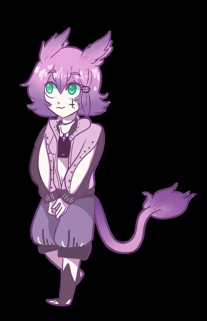 Meow by gh0stbun