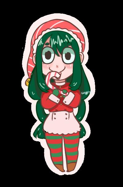 Christmas Froppy! by gh0stbun