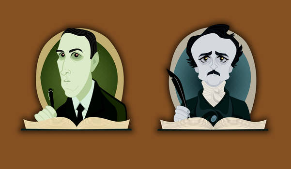 HP Lovecraft Edgar Allan Poe