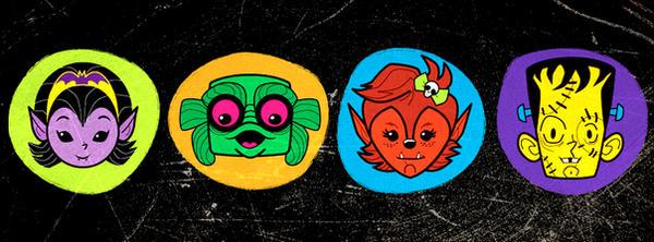 Monster Kids by belledee