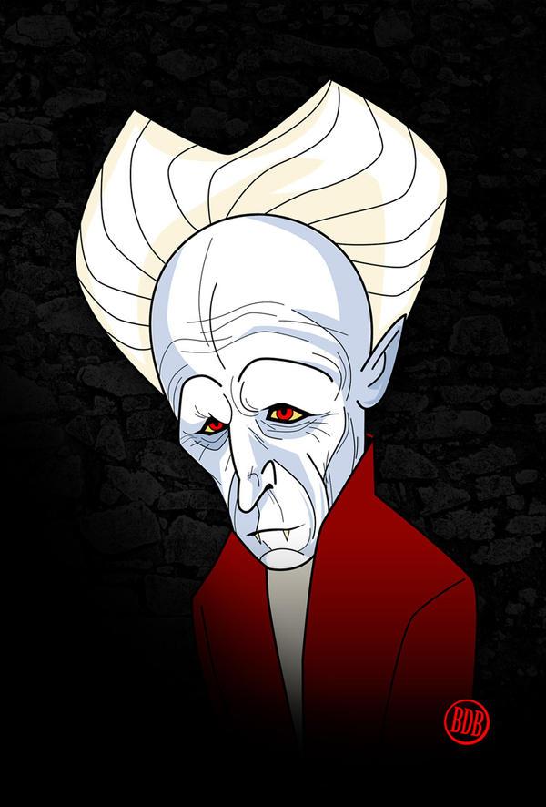 Old-man Dracula by belledee